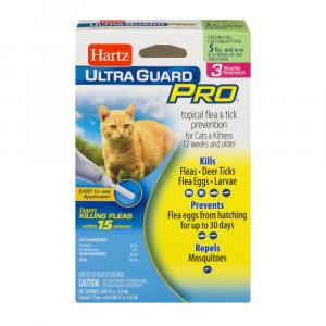 Hartz Ultraguard Pro Topical Flea & Tick Prevention For Cats