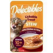 Delectables Chicken & Tuna Stew Lickable Cat Treats