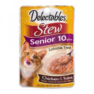 Delectables Chicken & Tuna Stew Lickable Cat Treats