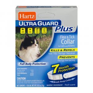 Hartz UltraGuard Plus Flea & Tick Collar for Cats