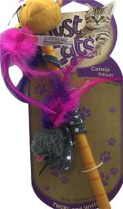 Hartz Just for Cats Twirl and Whirl Cat Toy