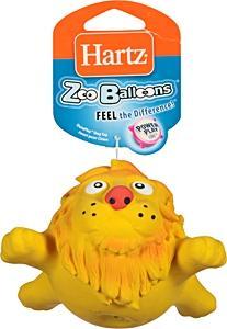 Hartz Zoo Balloons Dog Toy