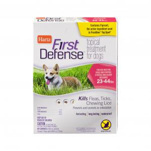 Hartz First Defense Topical Treatment for Dogs 23 to 44 Lbs.