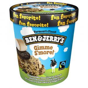 Ben & Jerry's Gimme Smores Ice Cream