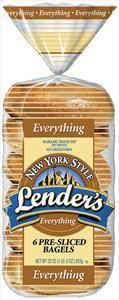 Lender's Fresh Everything Bagels
