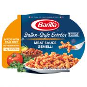 Barilla Gemelli with Meat Sauce