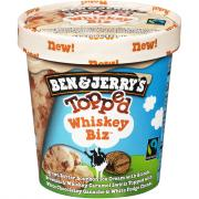 Ben & Jerry's Topped Whiskey Biz