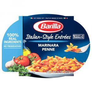 Barilla Mezze Penne with Traditional Marinara Sauce