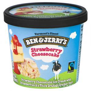 Ben & Jerry's Strawberry Cheesecake Ice Cream
