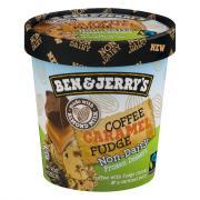 Ben & Jerry's Coffee Caramel Fudge Non-Dairy Dessert