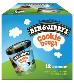 Ben & Jerry's Cookie Dough Ice Cream