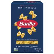 Barilla Mini Farfalle Pasta