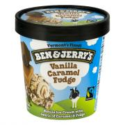Ben & Jerry's Vanilla Caramel Fudge Ice Cream