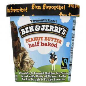 Ben & Jerry's Peanut Butter Half Baked Ice Cream