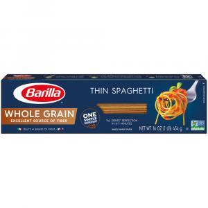 Barilla Whole Grain Thin Spaghetti