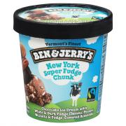 Ben & Jerry's New York Super Fudge Cake Ice Cream