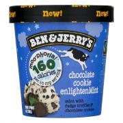 Ben & Jerry's Chocolate Cookie Enlighten Mint Ice Cream