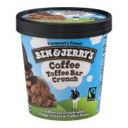 Ben & Jerry's Coffee Heath Bar Crunch Ice Cream