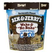 Ben & Jerry's Wake & No Bake Cookie Dough Core Ice Cream