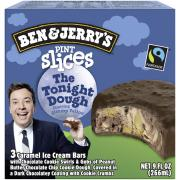 Ben & Jerry's The Tonight Dough Pint Slices Ice Cream Bars
