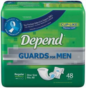 Depend Guards For Men