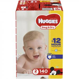 Huggies Snug and Dry Step 2 Giant Pack