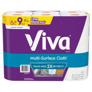 Viva Multi-Surface Choose-a-Sheet Big Roll Paper Towels