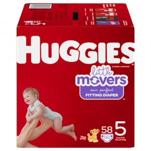 Huggies Little Movers Size 5 Giga Pack Diapers