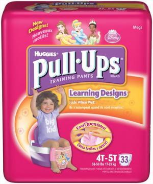 Huggies Pull-ups Girl's Training Pants 4t-5t