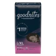 Huggies GoodNites Briefs Large/X-Large Girl Jumbo