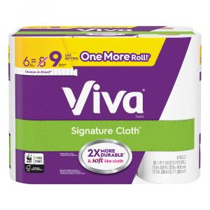 Viva Signature Cloth Choose a Sheet Big Roll Paper Towels