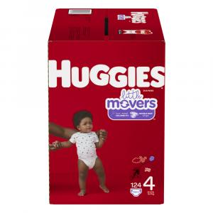 Huggies Little Movers Step 4 Diapers