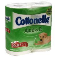 Kleenex Cottonelle Aloe & E Double Roll Bath Tissue