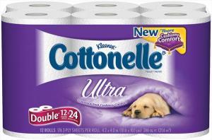 Cottonelle Ultra Bath Tissue Double Roll