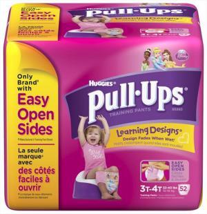 Huggies Pull-ups Girl's Training Pants 3t-4t