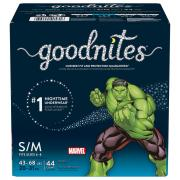 GoodNites Pants Small/Medium Boy Giga Pack