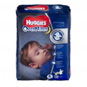 Huggies Overnites Step 6 Jumbo Diapers