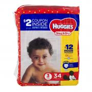 Huggies Snug & Dry Step 3 Jumbo Pack