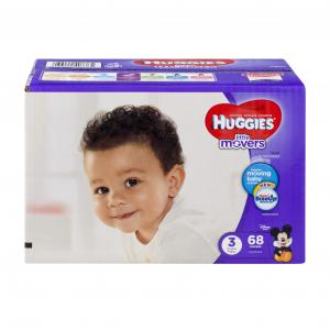 Huggies Little Movers Step 3 Big Pack Diapers