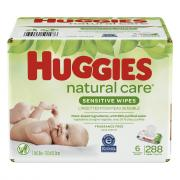 Huggies Natural Care Sensitive Wipes