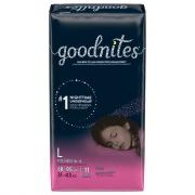 Huggies GoodNites Briefs Large Girls Jumbo