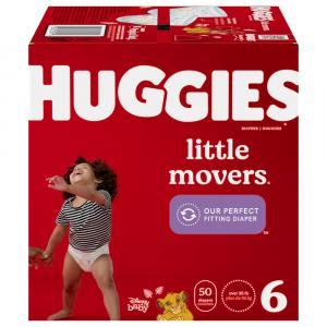 Huggies Little Movers Size 6 Giga Pack Diapers