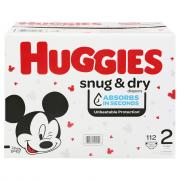 Huggies Snug & Dry Size 2 Giga Pack Diapers