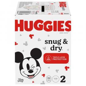 Huggies Snug & Dry Size 2 Giga Pack Diapers