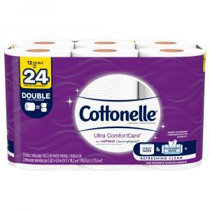 Cottonelle Ultra Comfort Care Double Roll Bath Tissue