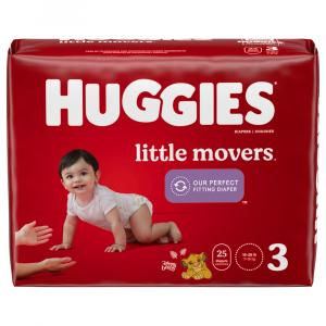 Huggies Little Movers Step 3 Diapers