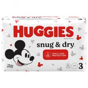 Huggies Snug & Dry Size 3 Jumbo Pack