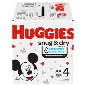 Huggies Snug & Dry Size 4 Giga Pack Diapers