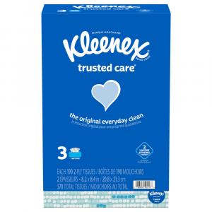 Kleenex Trusted Care Facial Tissue