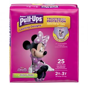 Pull-Ups Learning Designs 2T-3T Girl Jumbo Pack